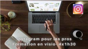 Formation instagram visio 4 x 1h30